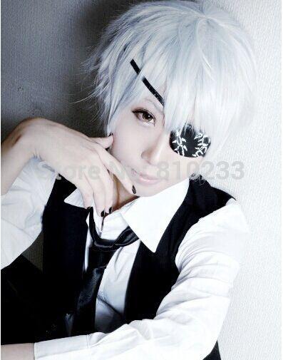 Suncos] Tokyo Ghoul Ken Kaneki short weiß 30 cm 12 \