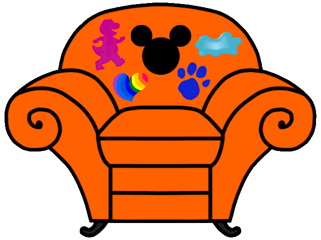 Mickey's Clues Thinking Chair | Blue's Clues and Mickey's ...