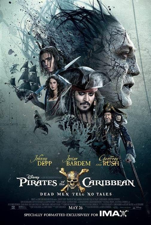 Plakat Z Filmu Piraci Z Karaibów Zemsta Salazara 2017