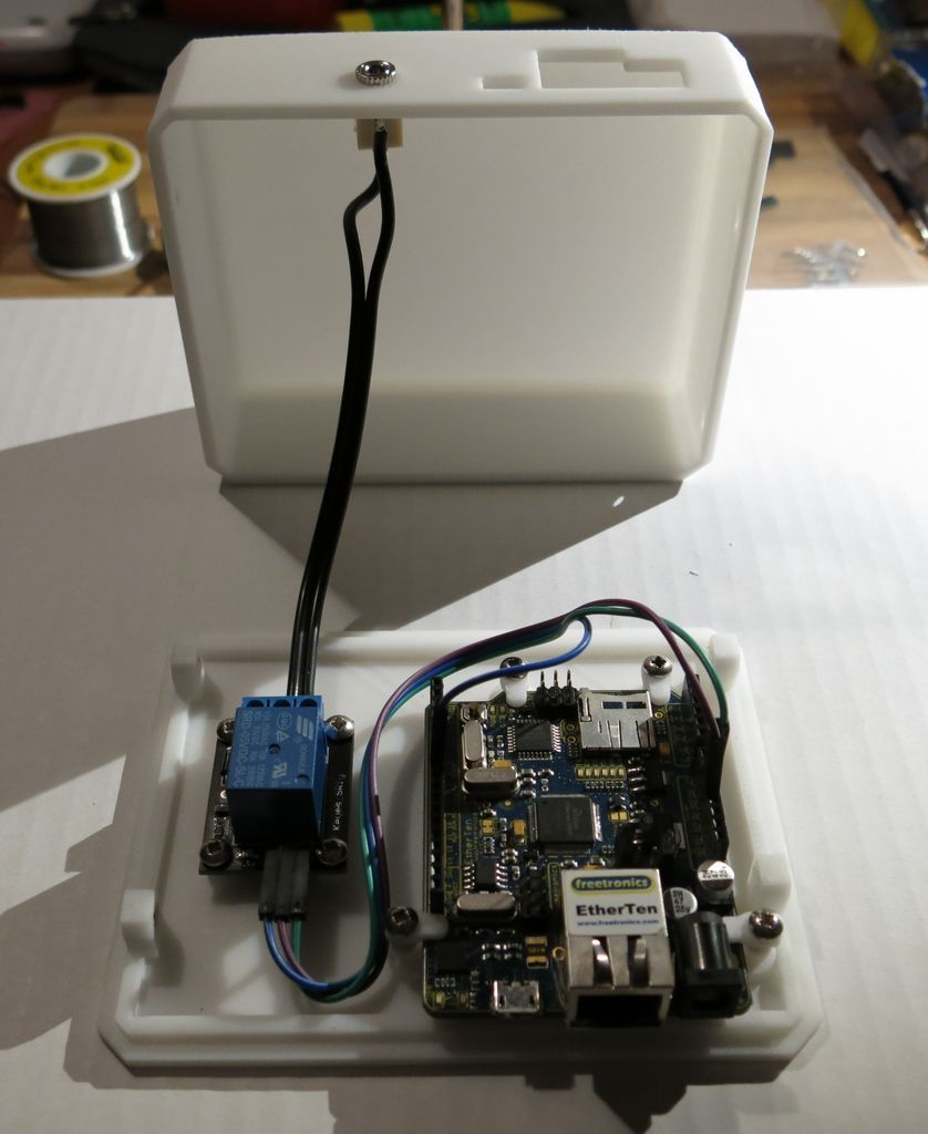 Arduino Wifi Garage Door Opener Arduino Wifi Arduino Garage Door Opener