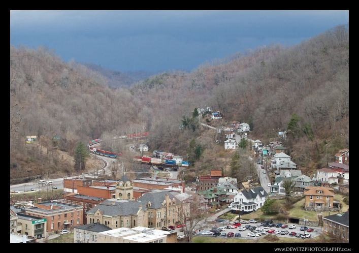 Storm Over Welch, West Virginia – Also Home of the Book the