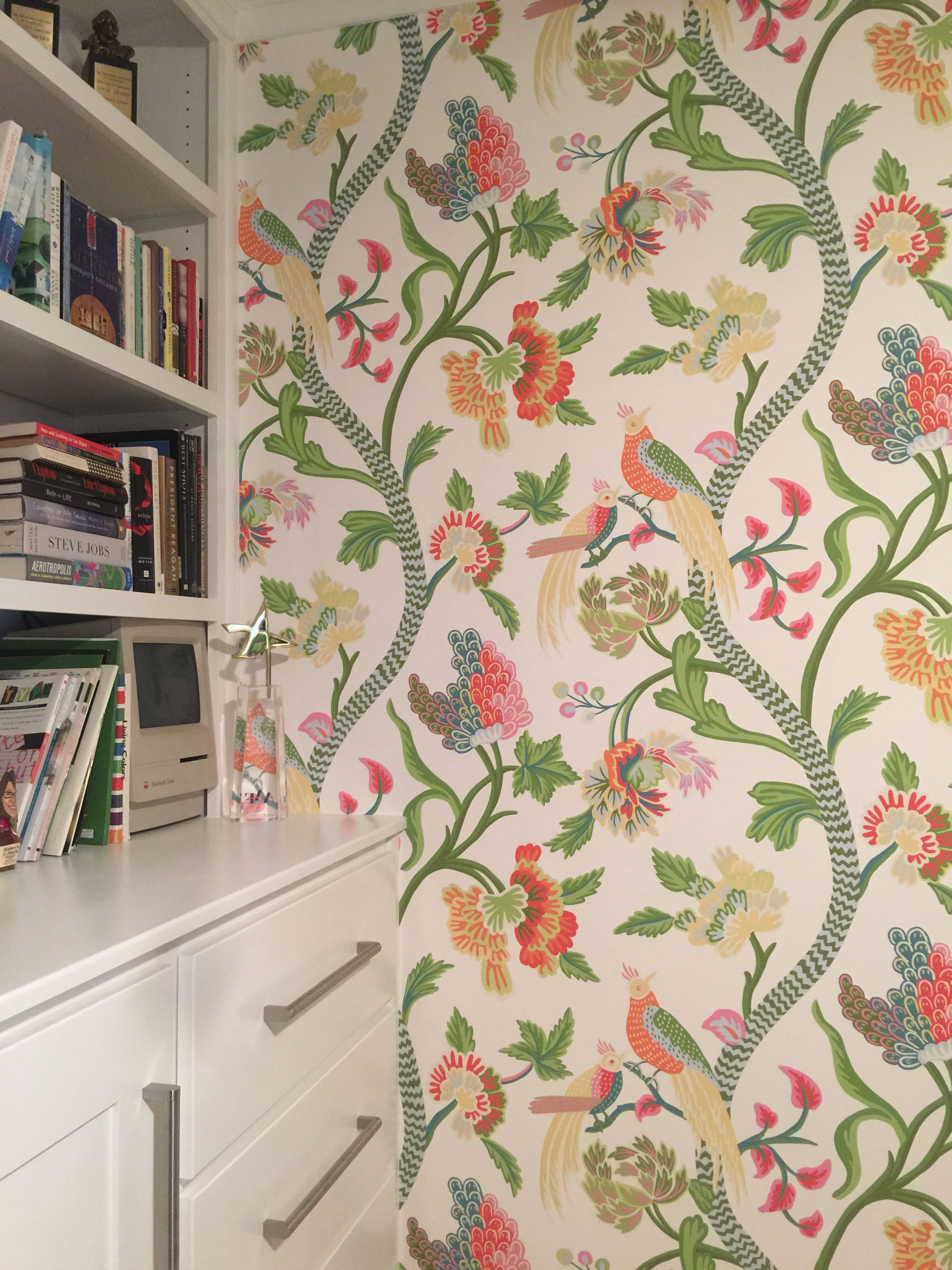 Thibaut Janta Bazaar Wallpaper Powder Roomsflorida