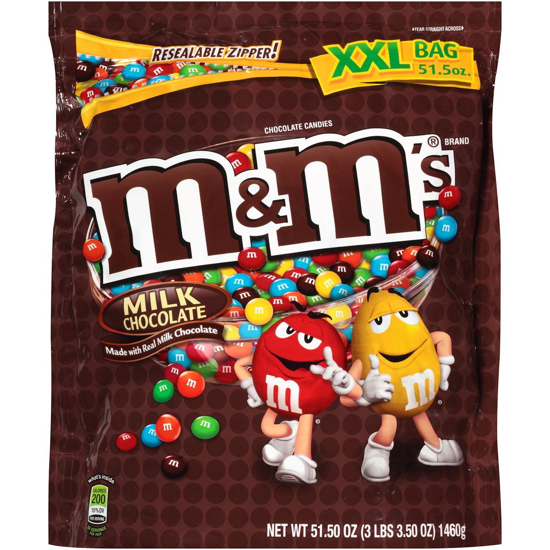 Mms Milk Chocolate Candies 5150 Oz Sams Club