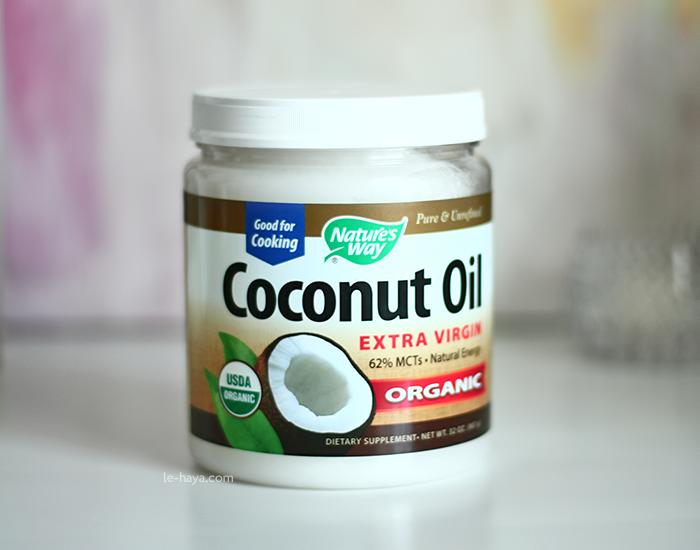 Organic Coconut Oil زيت جوز الهند العضوي Coconut Oil Beauty Health Dietary Supplements