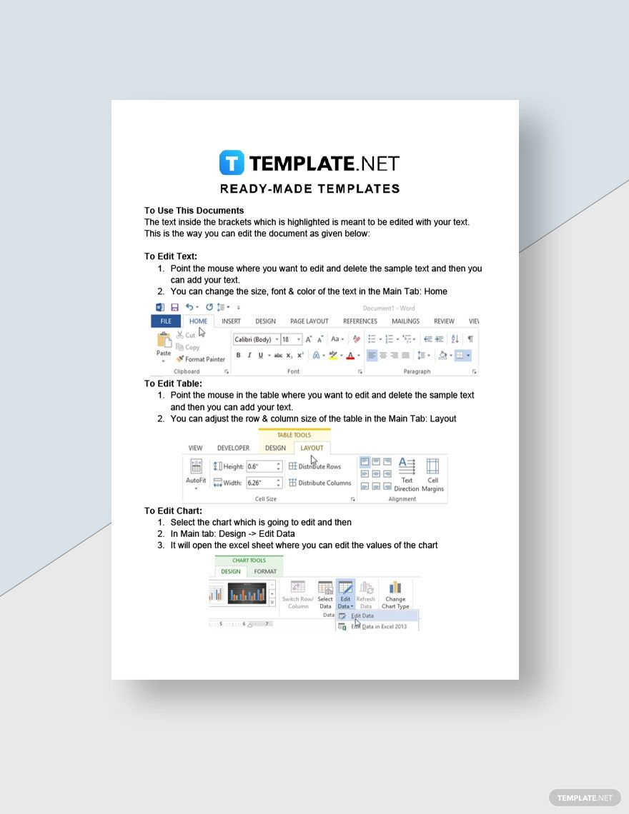 Agency Financial Plan Template Word Google Docs in