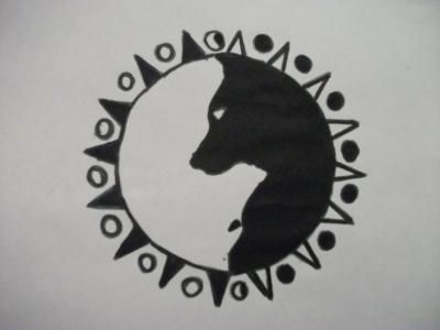 ying-yang-wolf-style-tattoo | Ta'oo? | Pinterest | Style, Snakes ...