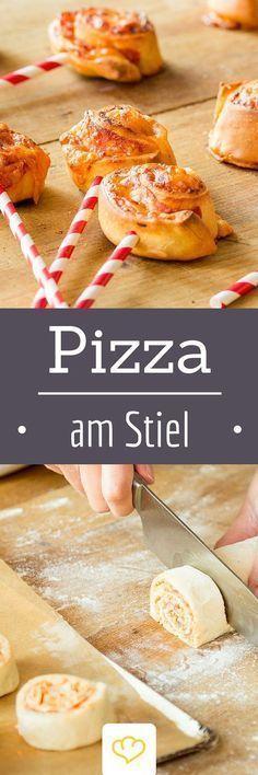 So hast du Pizza noch nicht gesehen Knusprige Pizzasticks  kiddis