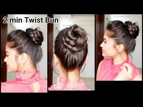 Everyday Quick Easy Hairstyles Indian Hairstyles For Medium Long