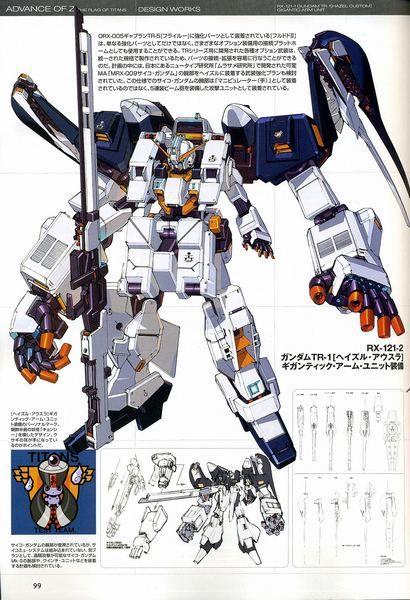RX-121-1 Gundam TR-1 [HAZEL CUSTOM] GIGANTIC ARM UNIT