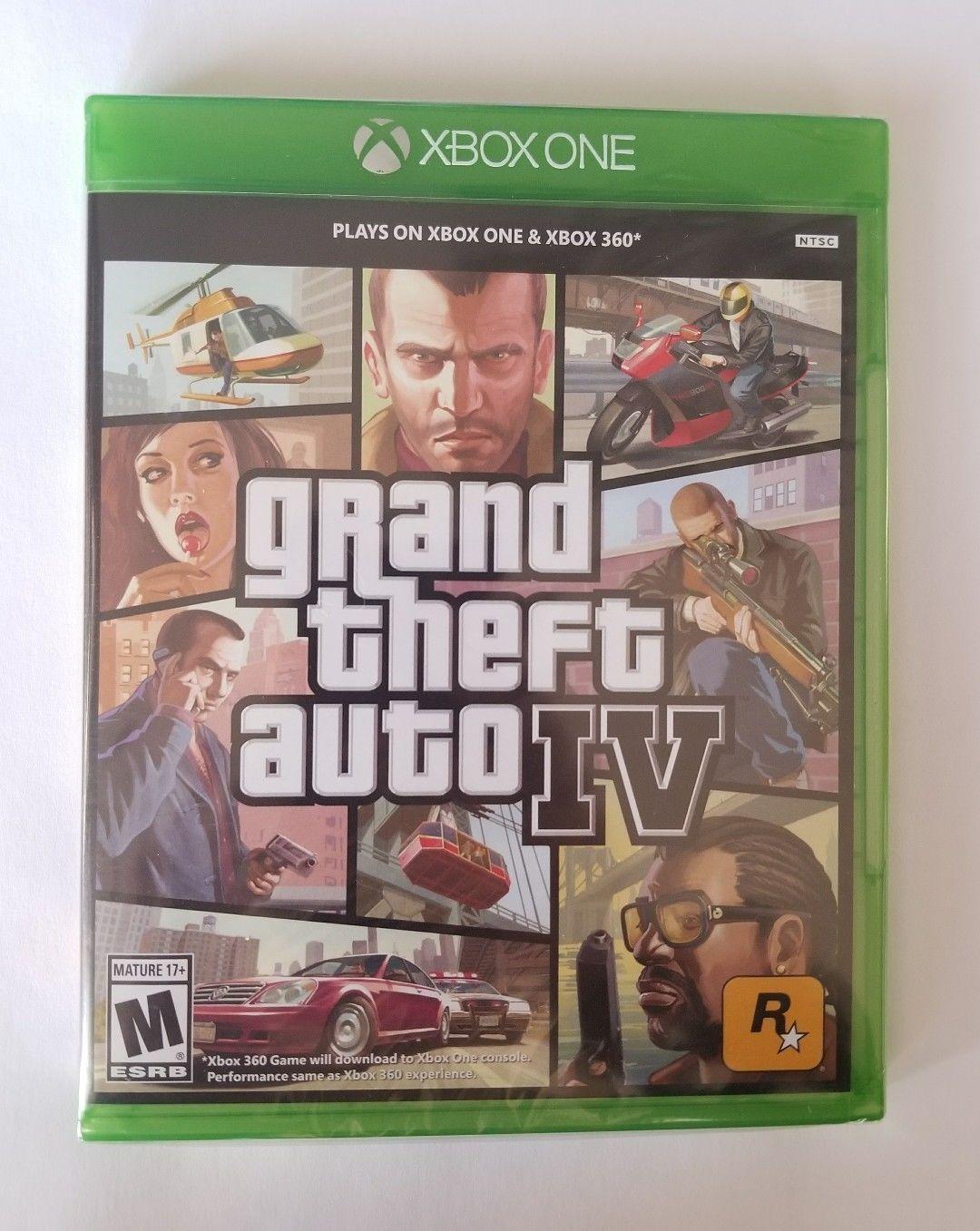 Grand Theft Auto IV GTA 4(XBOX ONE/XBOX 360) Factory Refurbished FREE  Shipping! http://ift.tt/2FkVbf4 #xboxone #xbox360 | Xbox 360, Xbox, Grand  theft auto