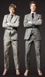 This pic cracks me up. :) #Sherlock #BBC #Martin
