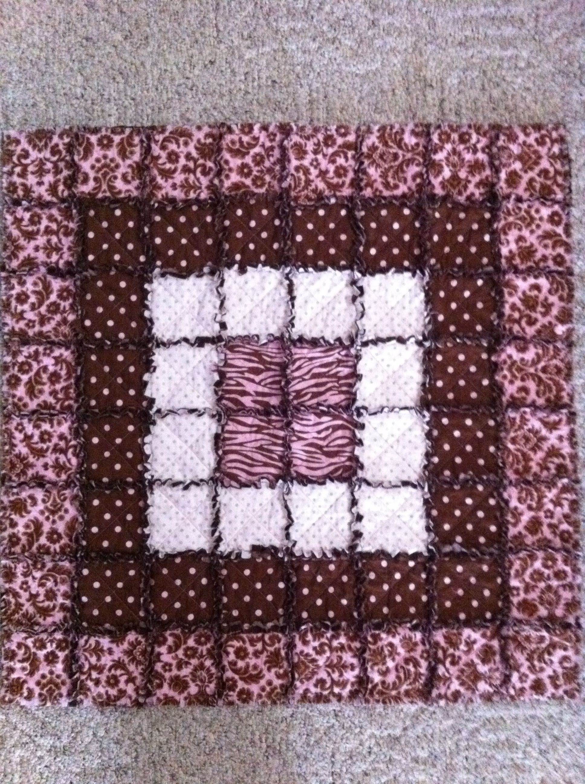 My first baby rag quilt.... Made for Millee Kate.... | Quilt Ideas ... : rag quilt curtains - Adamdwight.com