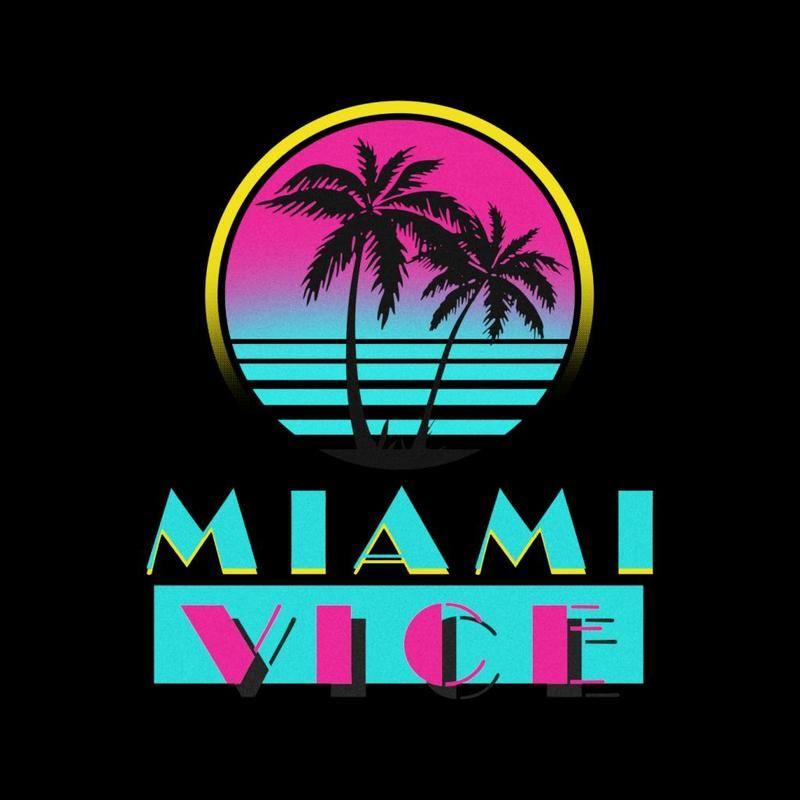 Miami Vice Logo Cloud City 7 In 2020 Miami Art Deco Miami Vice Miami