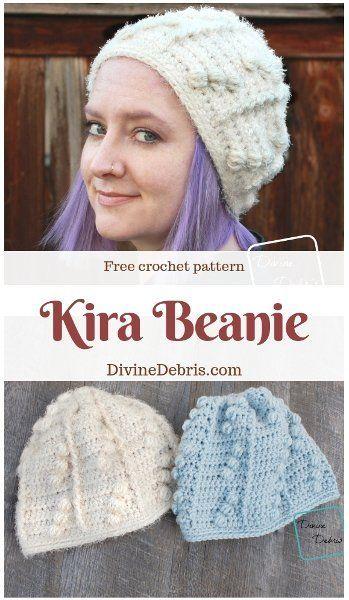 Kira Beanie free crochet pattern by