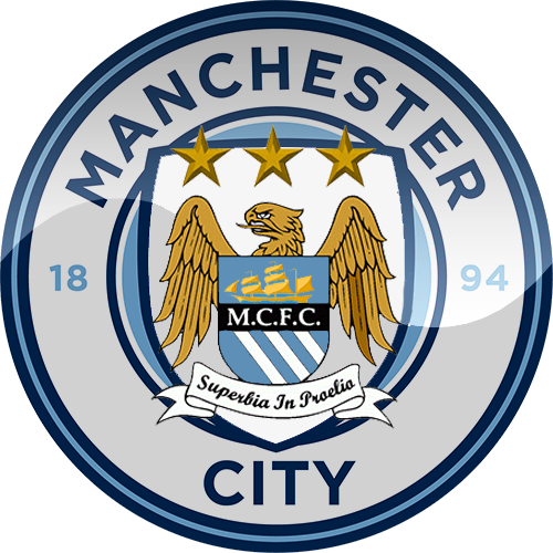 Manchester City Manchester City Soccer Logo British Football