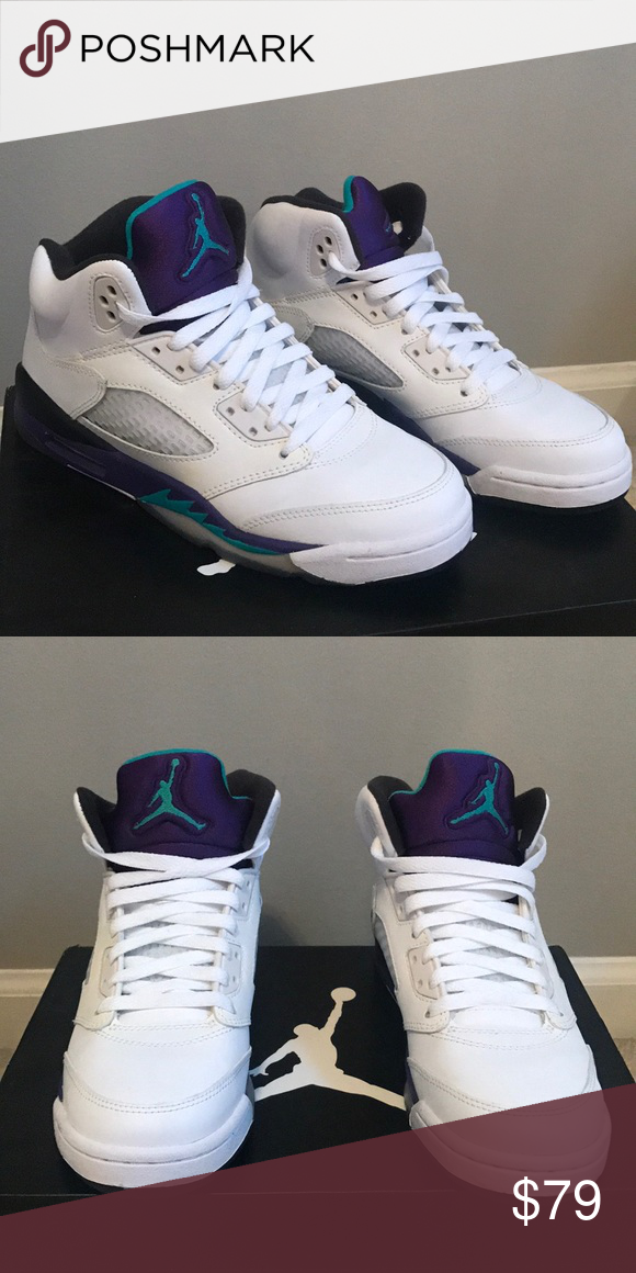 Jordan Grape 5 Jordan Grape 5. Boys size 5.5 (women s 6). Never worn! Air  Jordan Shoes Sneakers 6d563bf635