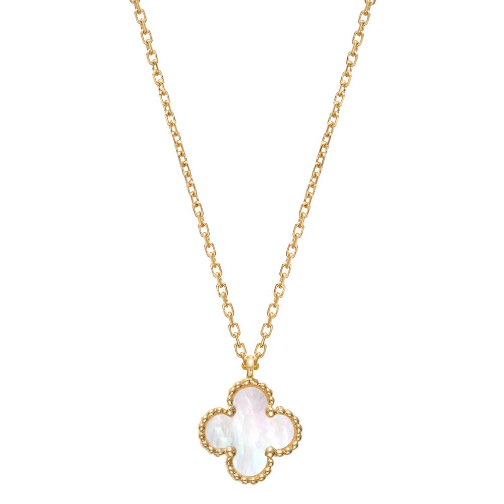 25761acf2c2d Van Cleef   Arpels Sweet Alhambra Clover Pendant on Chain