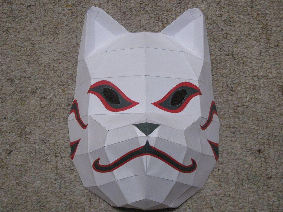 Anbu Mask Paper Craft Bad Asssss Anbu Mask Origami Crafts Diy Paper Crafts