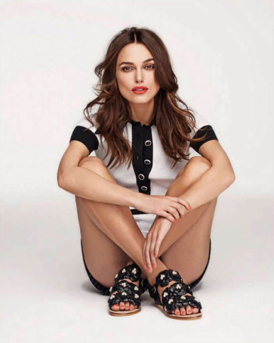 Keira Knightley | Photography by Mariano Vivanco | For Elle Magazine UK | March 2015