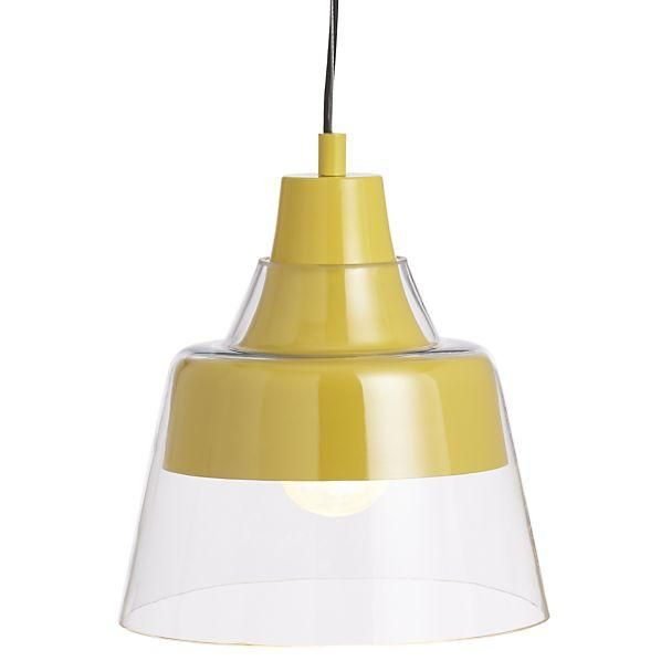 Attractive Webster Yellow Pendant Lamp In Chandeliers Pendants