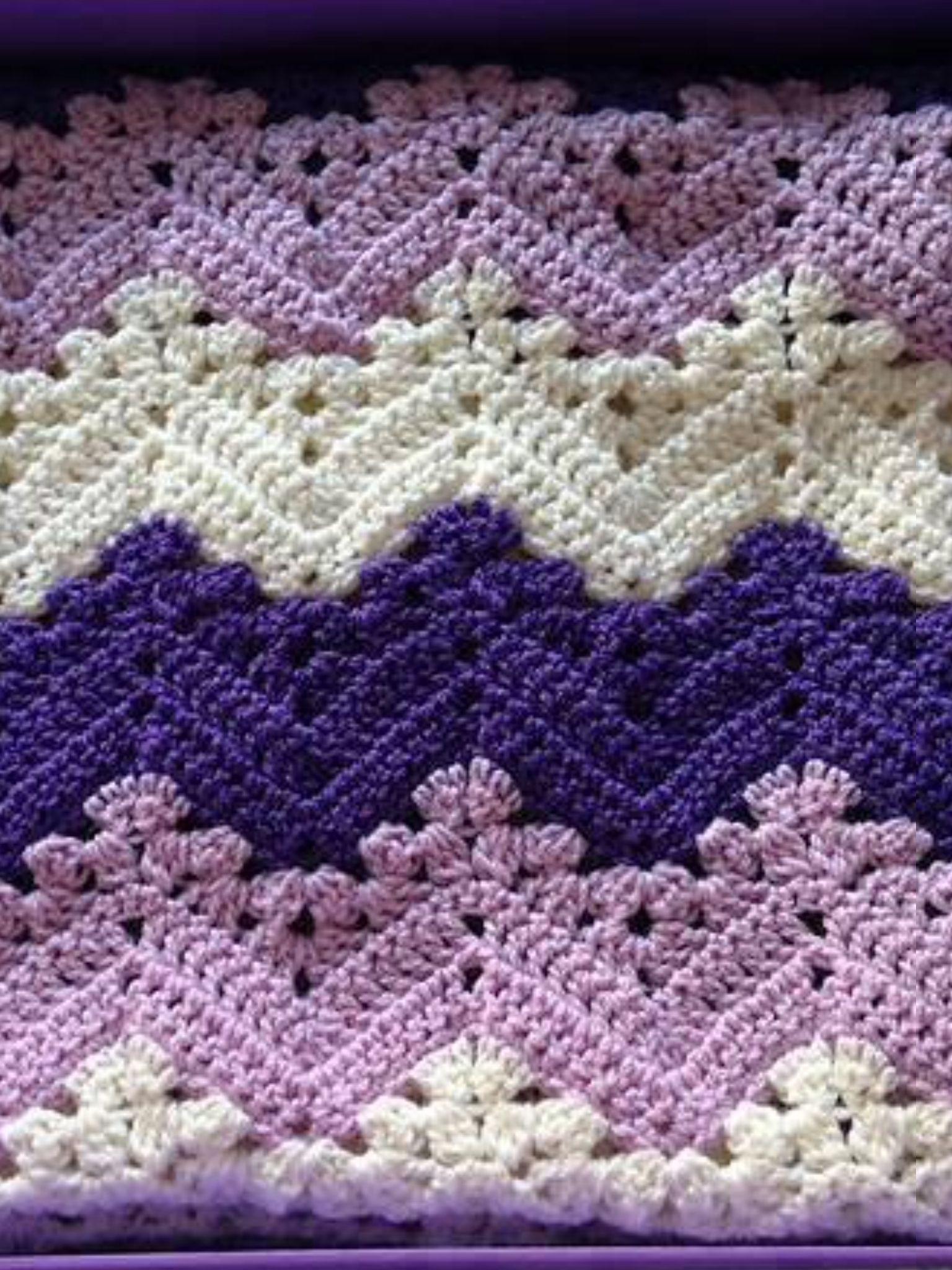 Pin von Annie Fletcher auf ~ Crochet ~ | Pinterest | Wellen häkeln ...