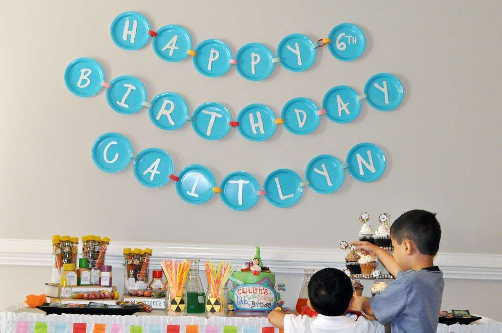 Birthday party ideas & Mad Science Birthday Party Ideas | Mad science Mad science party ...