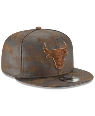 439c826d New Era Chicago Bulls Butter So Camo 9FIFTY Snapback Cap - Green Adjustable
