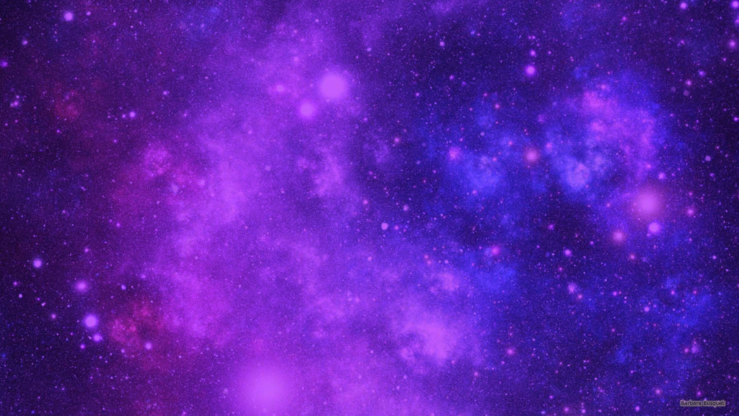 Blue and purple galaxy background