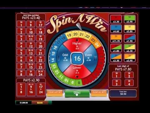 £20 No Deposit Spin A Win ONLINE & MOBILE Casino Bonus