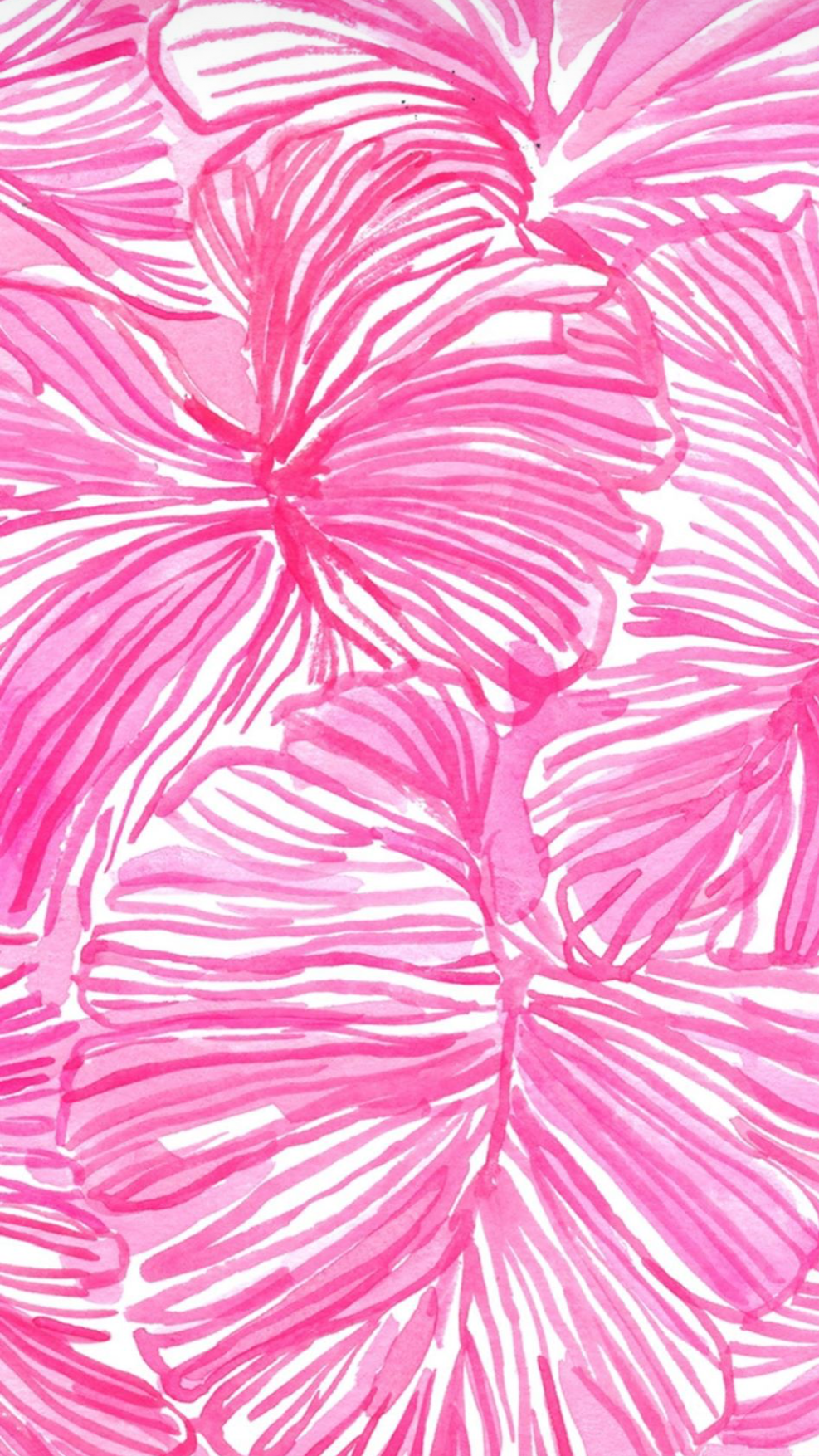 Lilly Pulitzer Wall Paper Pink Palm Tree Preppy Wallpaper Lily Pulitzer Wallpaper Picture Collage Wall
