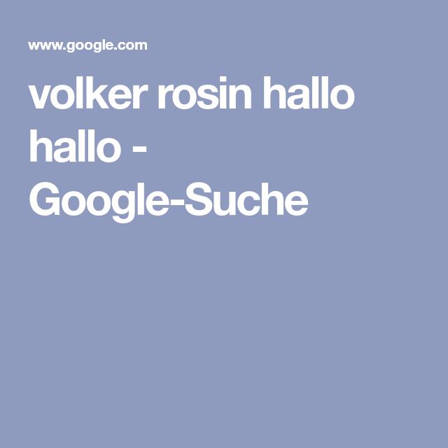hallo google ich suche