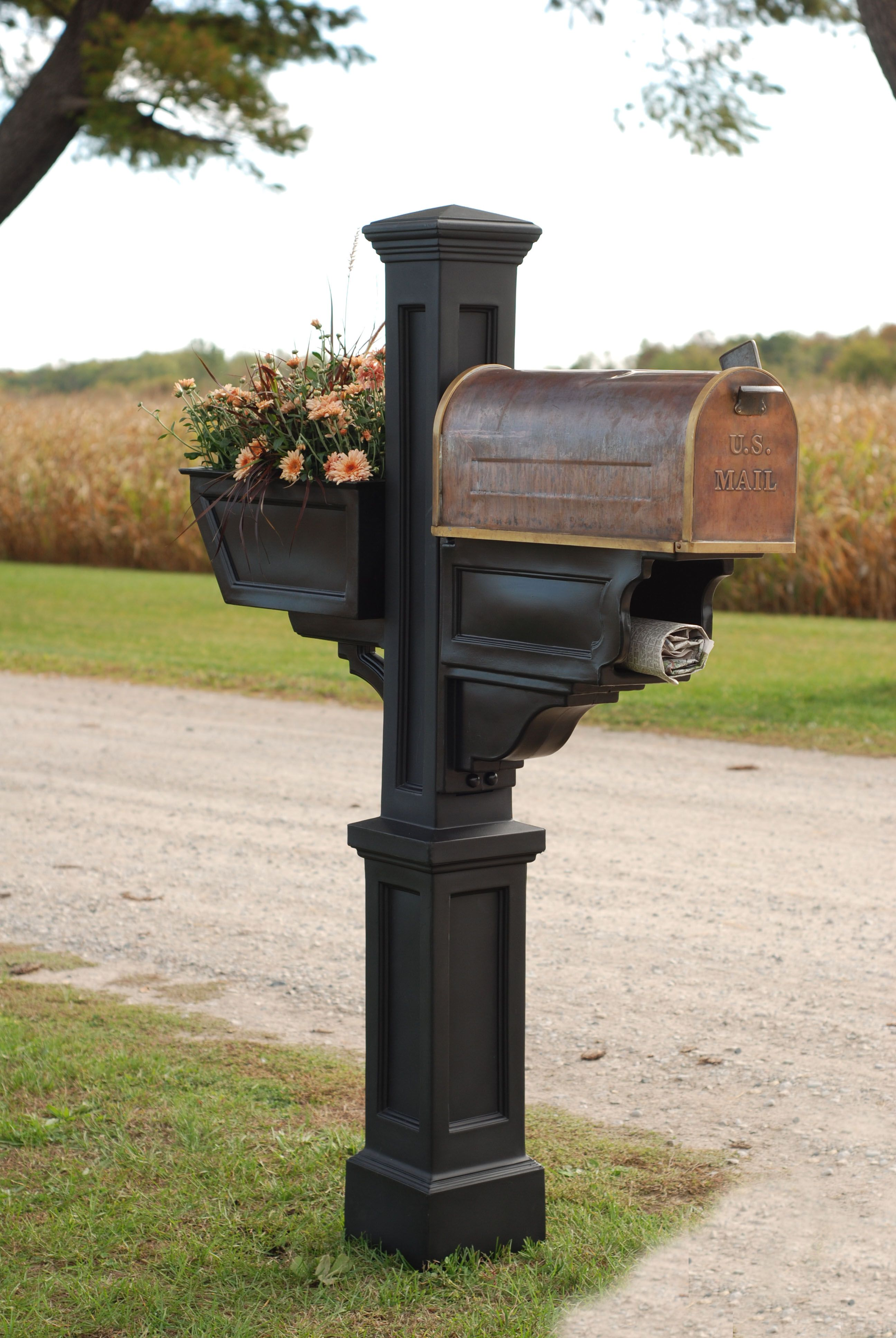 Home Improvement In 2020 Wood Post Mailbox Post Building A New Home