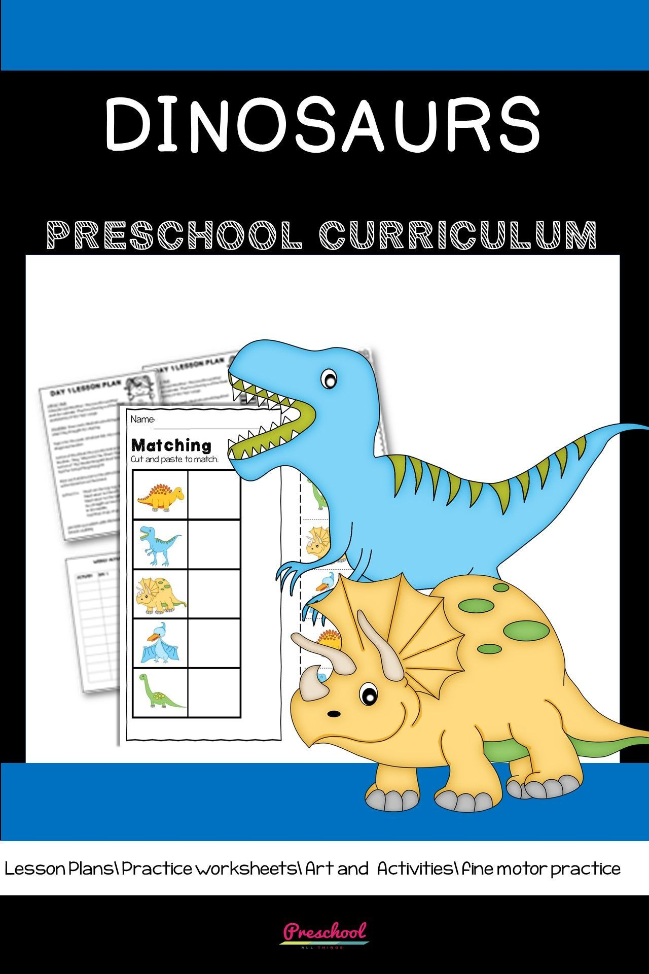 Dinosaur Preschool Theme In