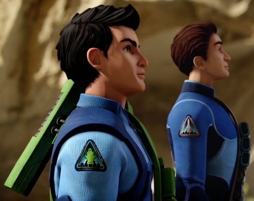 Virgil And Scott Thunderbirds Are Go Gerry Anderson Fun