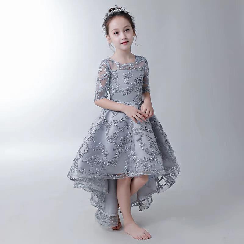 Toddler Princess Gown Flower Dress Kids Frocks Design Dresses Kids Girl Kids Gown