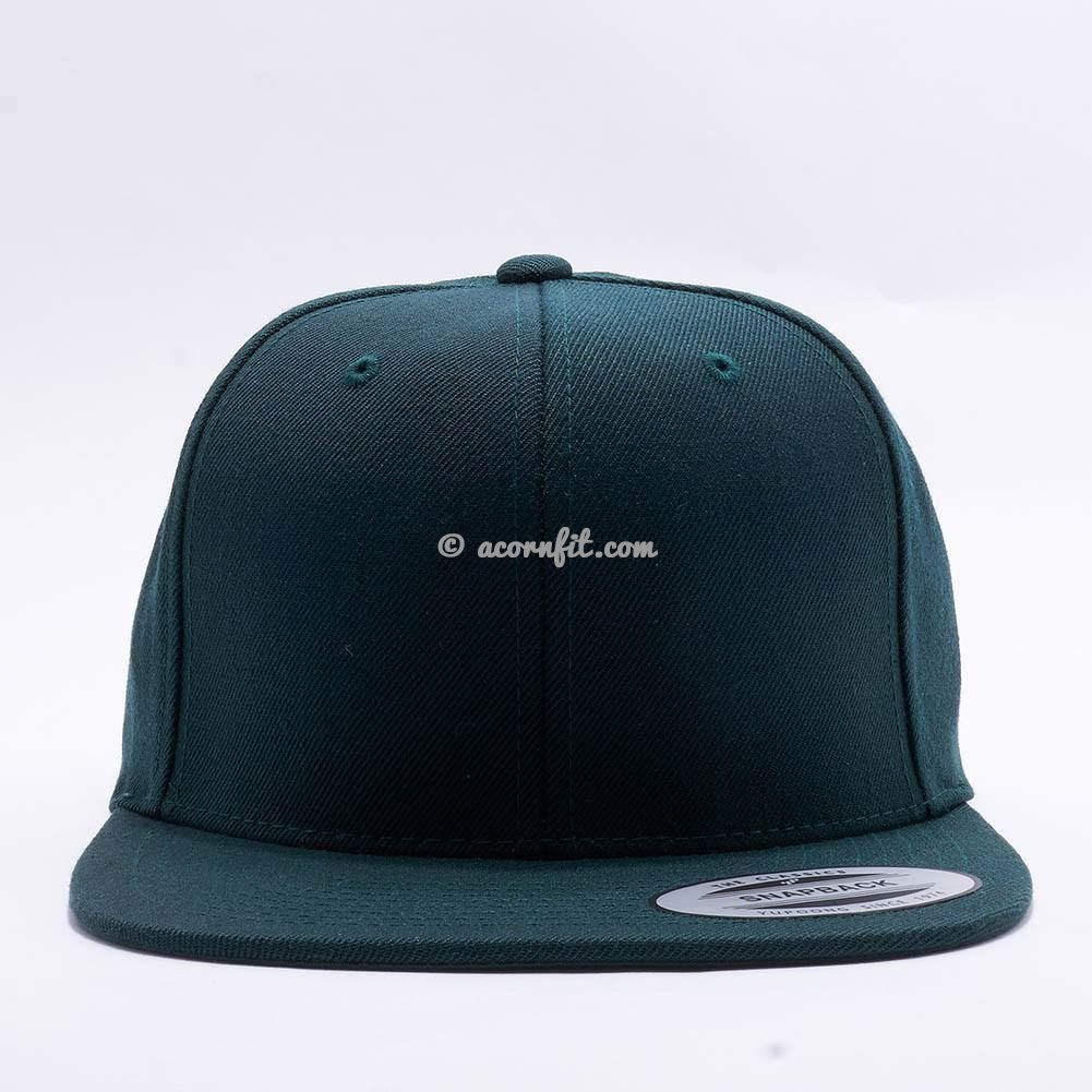 93160e0642d14 Wholesale Yupoong 6089M Classic Snapback  Spruce