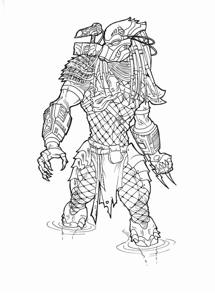Predator Coloring Pages Alien Vs Predator Predator Art Predator Alien