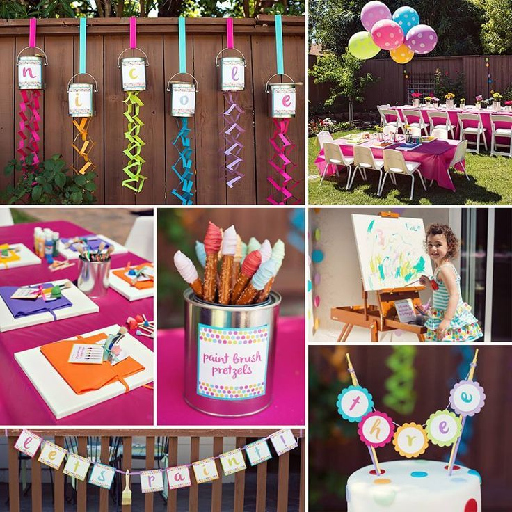 Rainbow themed birthday party with SO many ideas! Description from pinterest.com. I searched for this on bing.com/images