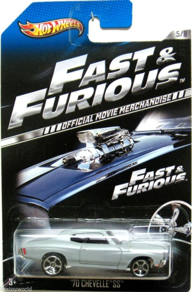 1970 Chevy Chevelle SS Hot Wheels 2013 FAST  FURIOUS 58 Movie
