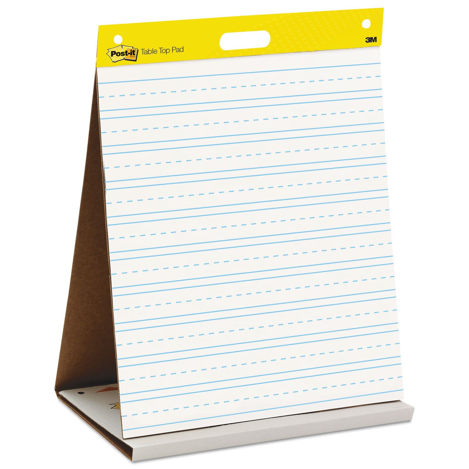 Post-it Easel Pads Self-Stick Tabletop Easel Primary Ruled Pad 20 x 23 20 Sheets/Pad