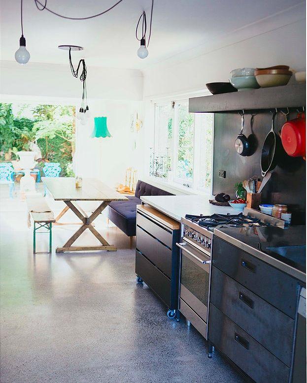 Auckland Kitchen by Studio106 | Remodelista | Industrial | Pinterest