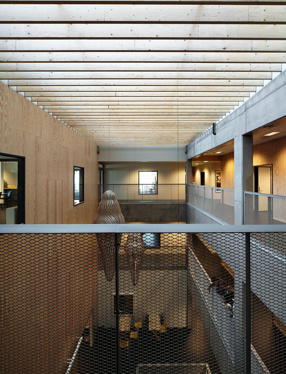 Faerder Technical High School In Norway By White Arkitekter