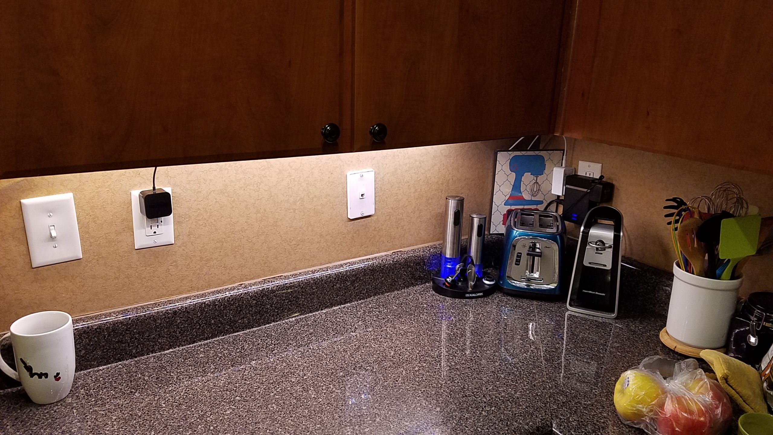 Philips Hue Lightstrip Extension For Cabinet Lighting