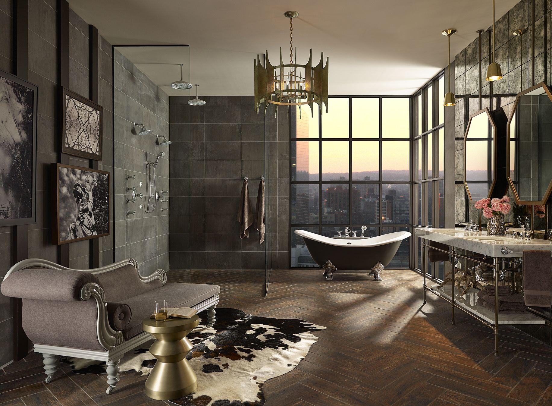 donna mondi interior design dmdi eclectic bathroombathroom - Eclectic Bathroom Interior
