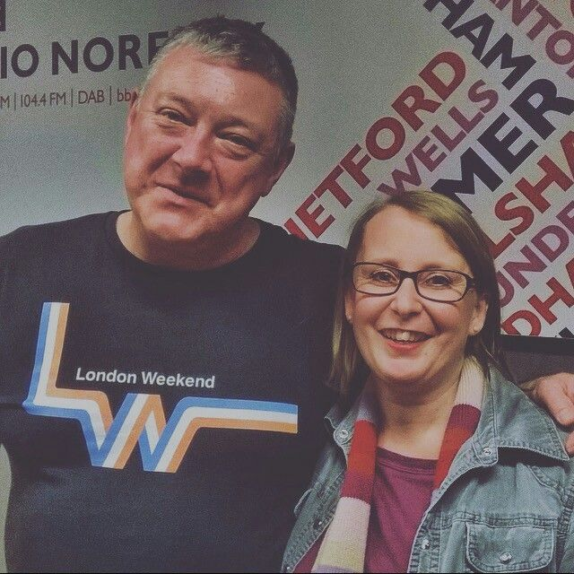 More fun talking about The Cherry Tree Cafe on Radio Norfolk!