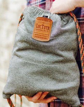 LocTote Flak Sack, Easy & Comfy to Handle.