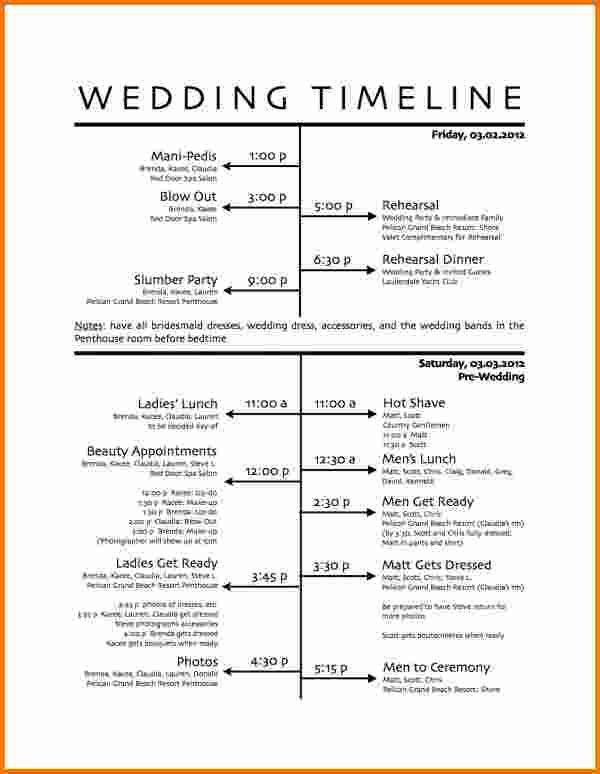 wedding-day-schedule-template-timelinejpg (600×774) Just for - timeline template for kids