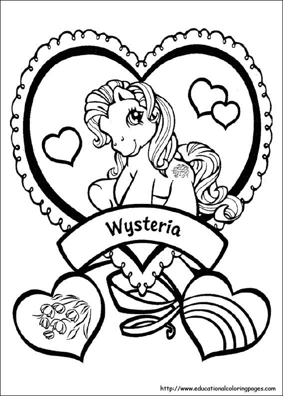My Little Pony Coloring Pages free For Kids | Kids Printables ...