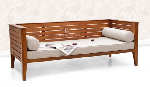 Teak Wood Divan Style Sofa Ws 42 Wooden Sofa Designs Wood Bed Design Wooden Sofa Set