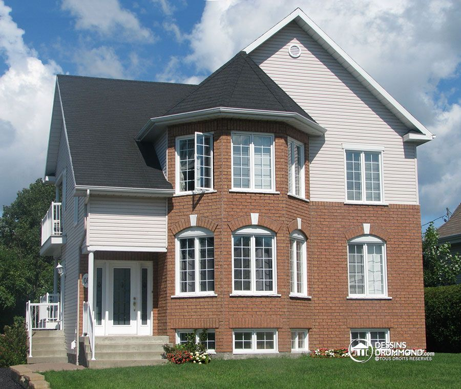Détail du plan de Maison multi logements W3029 Plans de maison